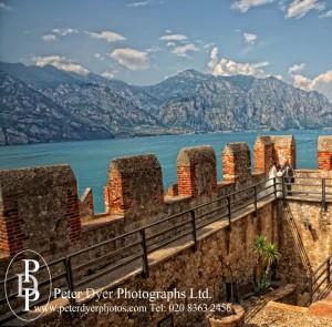 Lake Garda castle wedding photography