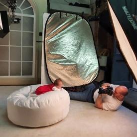Joel shooting in our Enfield Studio