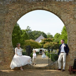 wedding photography at Hambury Manor hotel