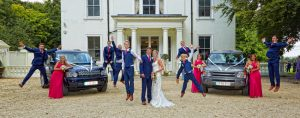 Wedding photography at Penton Park