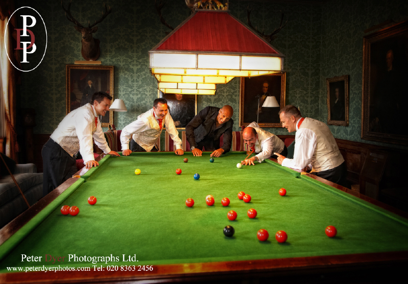 Brocket Hall Snooker room