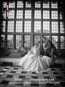Fanhams Hall Conservatory, Wedding Photography