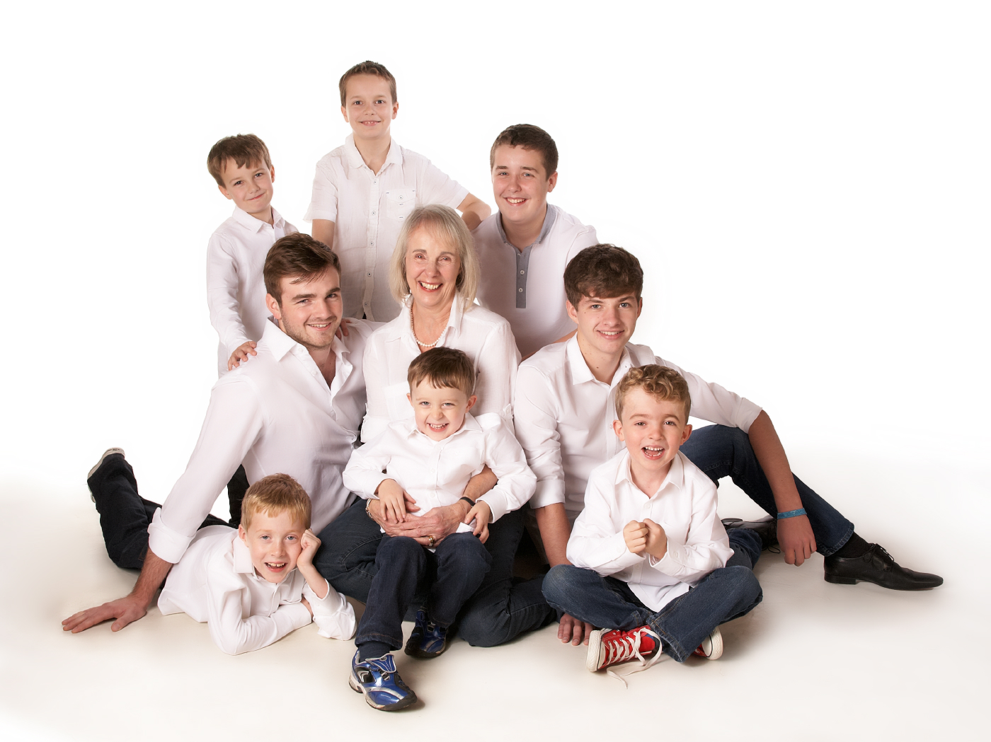 Family portrait studio in enfield, North London
