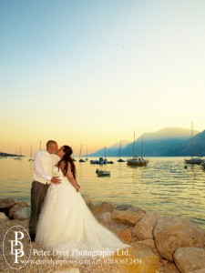 Lake Garda wedding shoot